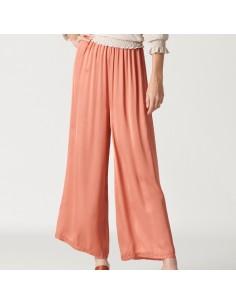 For You - Pantalone morbido donna in raso leggero (FY4366)
